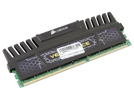 Оперативная память 4Gb PC3-12800 1600MHz DDR3 DIMM Corsair XMS3 Vengeance 9-9-9-24 CMZ4GX3M1A1600C9