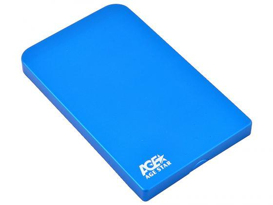 """все цены на Внешний контейнер для HDD 2.5"""" SATA AgeStar 3UB2O1 USB3.0 синий онлайн"""