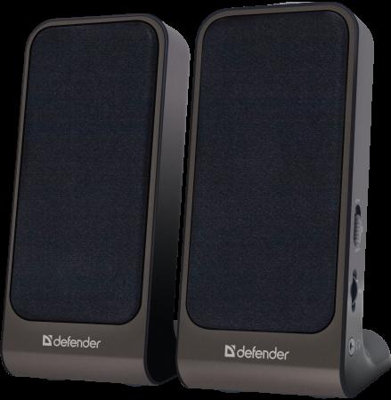Колонки DEFENDER SPK-220\\225 2x2 Вт, USB пит 65220