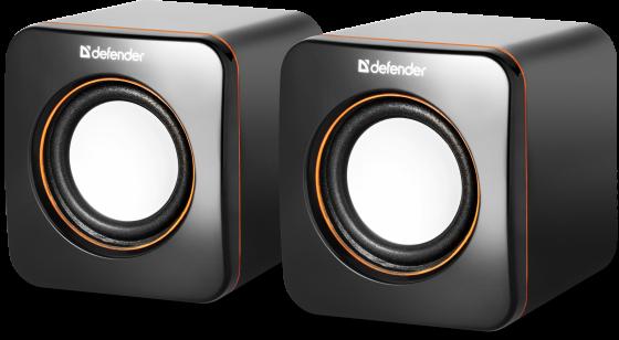 Колонки DEFENDER SPK-530 2x2 Вт USB 65530 черный