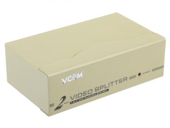 Фото - Переходник VGA VCOM Telecom VDS8015 переходник vcom telecom dvi vga 29m 15f vad7817