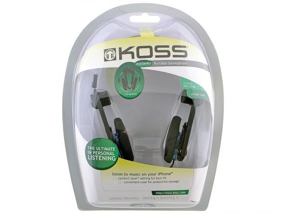 Наушники Koss Porta Pro Classic черный наушники koss porta pro