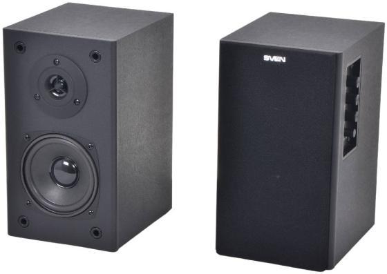 цена на Колонки Sven SPS-611S 2x18 Вт черный
