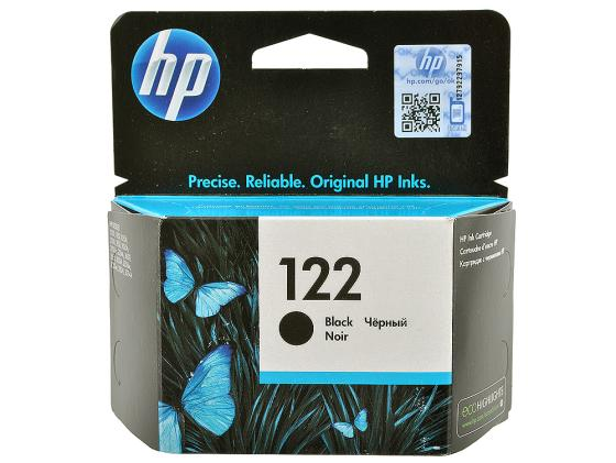 Картридж HP CH561HE №122 для DeskJet 1050 2050 2050s черный for hp 122 black ink cartridge for hp 122 xl deskjet 1000 1050 2000 2050 3000 3050a 3052a printer