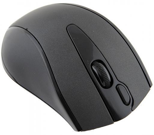 Мышь беспроводная A4TECH G9-500F-1 чёрный USB кнопка a4tech wg 100 беспроводная мышь офис мышь мышь для ноутбука черный