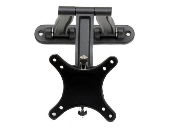 цена на Кронштейн Kromax TECHNO-1 темно-серый LCD 10-26 настенный 4 ст. свободы VESA 75/100 max 15 кг