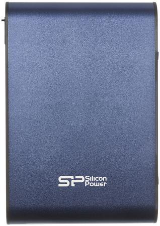 Внешний жесткий диск 2.5 USB3.0 500 Gb Silicon Power Armor A80 SP500GBPHDA80S3B синий armor a80 компании silicon power в украине