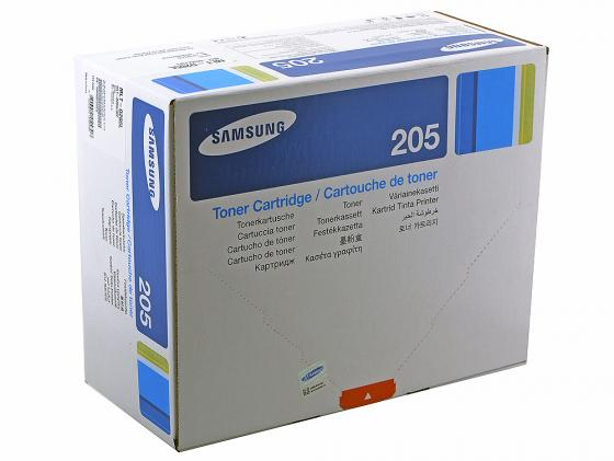Картридж Samsung MLT-D205L для ML-3310 3710 SCX-4833 5637 5000стр черный картридж samsung ml 3710 scx 5637 mlt d205e see