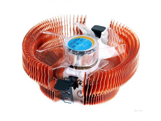 Кулер для процессора Ice Hammer IH-3776WV-B Neon Blue Socket 775/1366/AM2/754 /939/940 цена