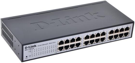 Коммутатор D-LINK DES-1100-24 управляемый  порта /100Mbps