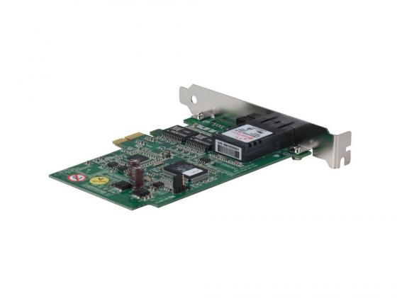 Сетевой адаптер TRENDnet TEG-ECSX PCI-Ex1 (MM 1000BASE-SX, SC) модуль trendnet teg mgbs10 одномодовый модуль mini gbic тип lc 10 км