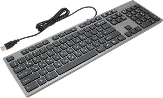 Клавиатура проводная A4TECH KV-300H USB черный серый
