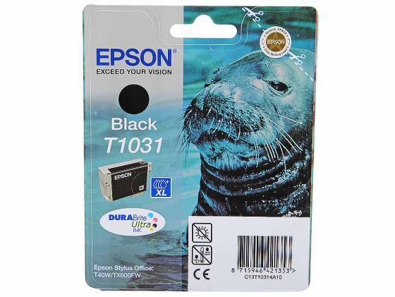 Картридж Epson C13T10314A10 для Epson Stylus Office T30/T40W/TX550W/TX600FW черный trefl 10314