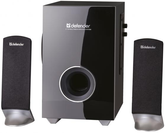 Колонки DEFENDER I-WAVE S20 2x3 + 14 Вт черный 65120 колонки defender blaze 30 2x5 20 вт серебристый 65026