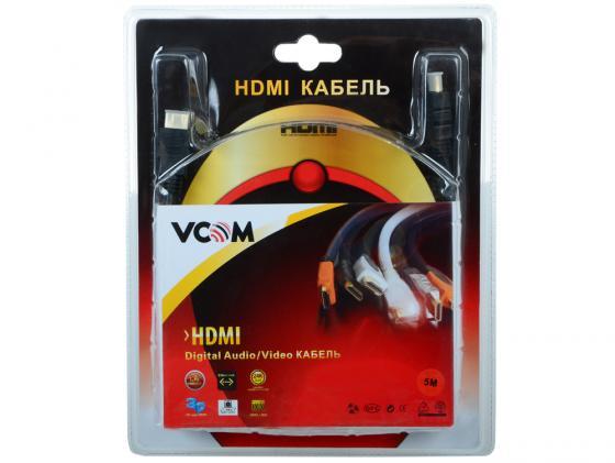 все цены на Кабель HDMI 5.0м VCOM Telecom v1.4-3D позолоченные контакты 2 фильтра VHD6020D-5M Blister онлайн