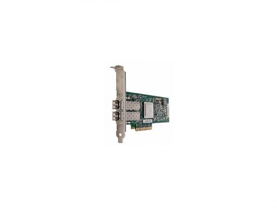 Контроллер IBM Express QLogic 8Gb FC Dual-port HBA for IBM System x (42D0510) [49Y3761] адаптер dell qlogic 2562 dual port 8gb fibre channel hba pci e x8 full profile kit 406 bbek