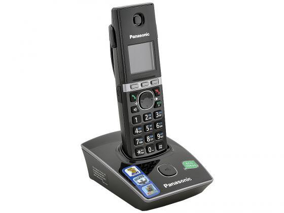 Фото Радиотелефон DECT Panasonic KX-TG8051RUB черный радиотелефон