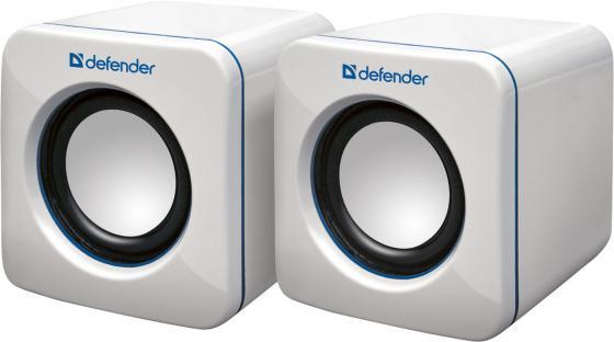 Колонки DEFENDER SPK-530 2x2 Вт USB белый 65531 колонки defender spk 22 2x2 5вт черный 65503