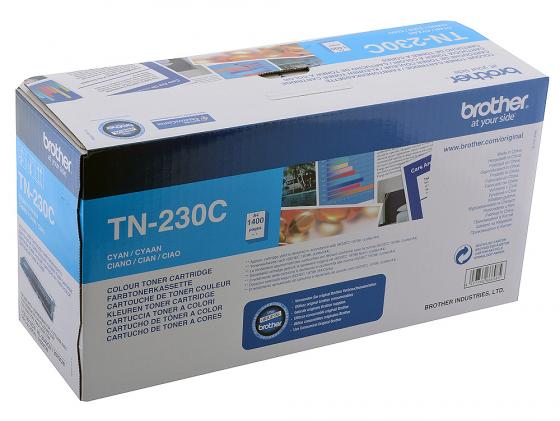 Картридж Brother TN-230C для HL3040 DCP9010CN MFC9120CN голубой alzenit for brother dcp 9010 dcp9010 mfc 9120 mfc 9140 mfc 9340 mfc 9120 9140 9340 original used fuser unit assembly 220v