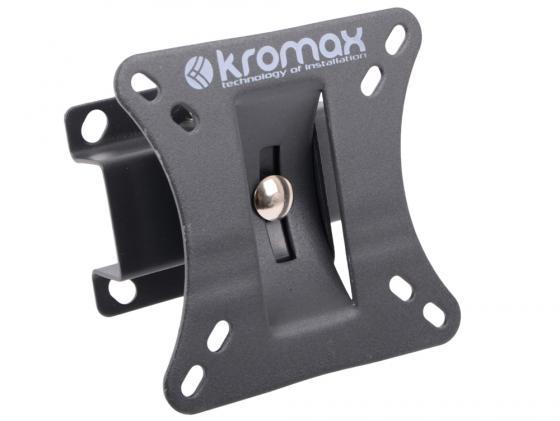 "все цены на Кронштейн Kromax GALACTIC-1 Серый 10-26"" 2 степени свободы VESA 100х100мм до 20кг онлайн"