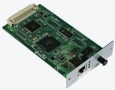 Фото - Сетевая карта Kyocera IB-50 Gigabit Ethernet 1505JV0UN0 nanopi neo2 fully chronicles h5 development board 64 bit four core a53 gigabit ethernet