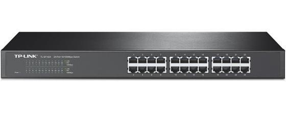 цена на Коммутатор TP-LINK TL-SF1024 24-ports 10/100Mbps