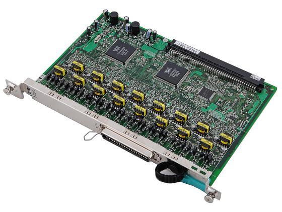 Плата дополнительных линий Panasonic KX-TDA0172XJ 16 внутренних цифровых портов для TDA100/200 акс panasonic kx tda0170xj для tda100 200
