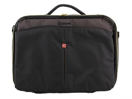 Сумка для ноутбука 15 Continent CC-02  Black Caviar нейлон черный сумка для ноутбука 15 continent cc 01 black нейлон
