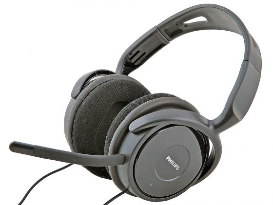 Гарнитура Philips SHM6500/10 черный philips shs5200 10