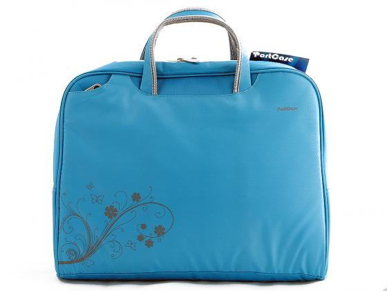 Сумка для ноутбука 15 PORTCASE KCB-51 женская синий сумка для нотбука 15 6 portcase kcb 03 black нейлон