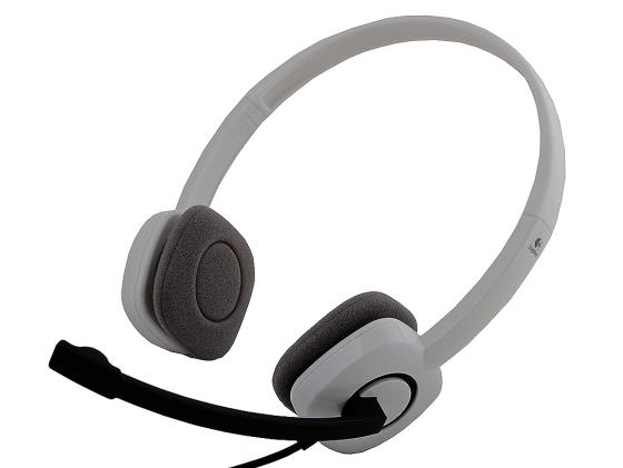 Гарнитура Logitech Stereo Headset H150 белый 981-000350 стоимость
