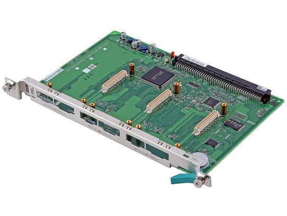 Плата-переходник Panasonic KX-TDA0190XJ 3слота для KX-TDA100/KX-TDA200/KXTDA600 акс panasonic kx tda0171xj для tda100 200