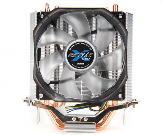 Кулер для процессора Zalman CNPS 7X LED+ Socket 1156/1155/1366/775/AM3/AM2/AM2+ цена