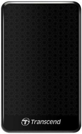 Внешний жесткий диск 2.5 USB3.0 500 Gb Transcend StoreJet 25A TS500GSJ25A3K черный