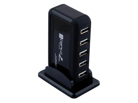 Концентратор USB ORIENT KE-700N/NP 7 портов с БП черный orient qbch00dw page 7
