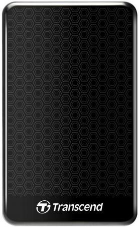 Внешний жесткий диск 2.5 USB3.0 1 Tb Transcend StoreJet 25A3 TS1TSJ25A3K черный