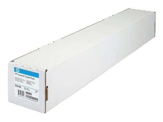 Бумага HP Q1414B Особоплотная универсальная бумага с покрытием, 1067мм * 30м, 120 г/м2