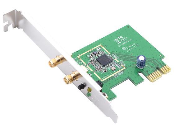 Беспроводной PCI-E адаптер ASUS PCE-N15 802.11n 300Mbps 2.4ГГц 19dBm