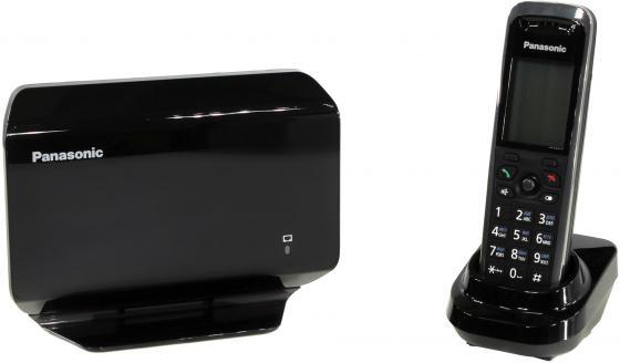 Телефон IP Panasonic KX-TGP500B09 SIP DECT черный телефон ip panasonic kx hdv130rub черный