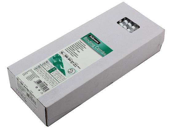 Пружина пластиковая Fellowes FS-53458 10мм белый 100шт fellowes powershred 99ci black шредер