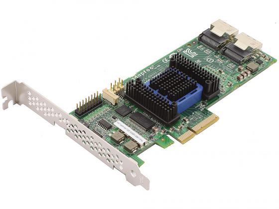 Контроллер SAS/SATA Adaptec ASR-6805E PCI-E v2 8x 8 port RAID JBOD 0 1 10 1E 128Mb Cache 2270900-R SGL цена
