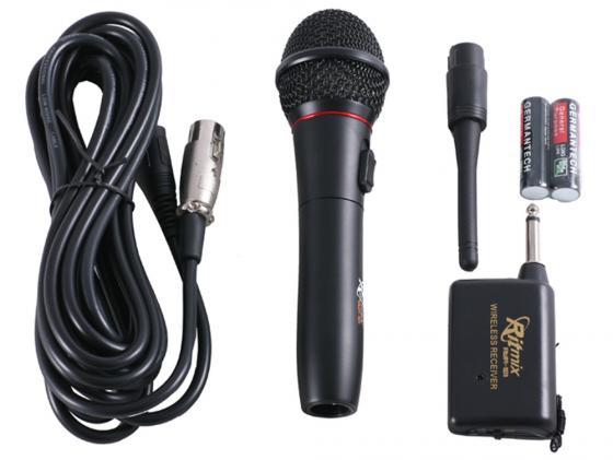 Микрофон Ritmix RWM-101 3м черный