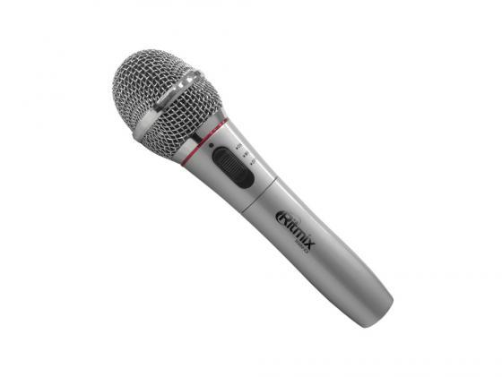 Микрофон Ritmix RWM-101 титан rolsen rwm 100 для 15 27 черный