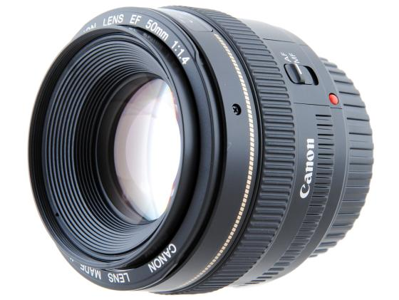 Объектив Canon EF 50mm f/1.4 USM 2515A012