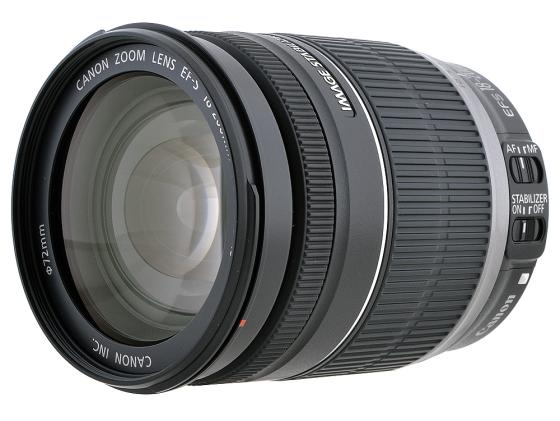 Объектив Canon EF-S 18-200 f/3.5-5.6 IS 2752B005 объектив canon ef s is stm 1620c005 18 55мм f 4 5 6 черный