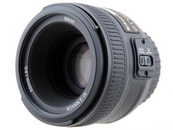 Объектив Nikon 50mm f/1.8G AF-S Nikkor JAA015DA объектив pentax smc da 50mm f 1 8