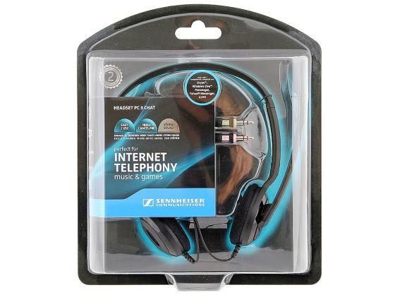Гарнитура Sennheiser PC 3 CHAT гарнитура sennheiser pc 2 chat черный