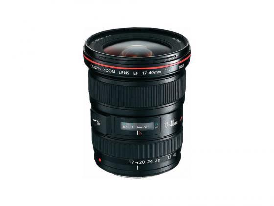 Объектив Canon EF 17-40mm f/4 L USM 8806A007 объектив canon ef 11 24 mm f 4 l usm