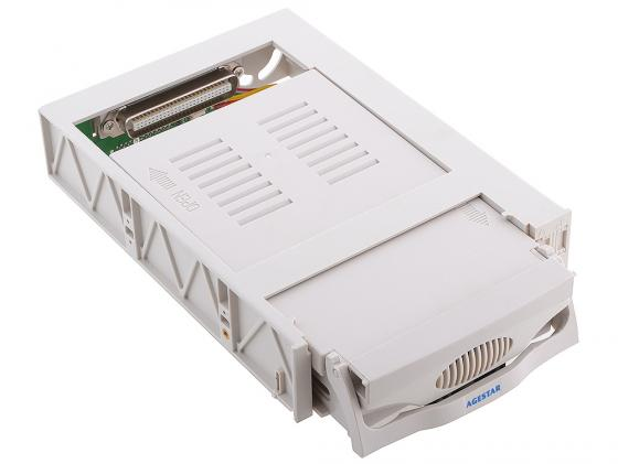 "все цены на Салазки для жесткого диска (mobile rack) для HDD 3.5"" AGESTAR SR3P(SW)-1F SATA бежевый онлайн"