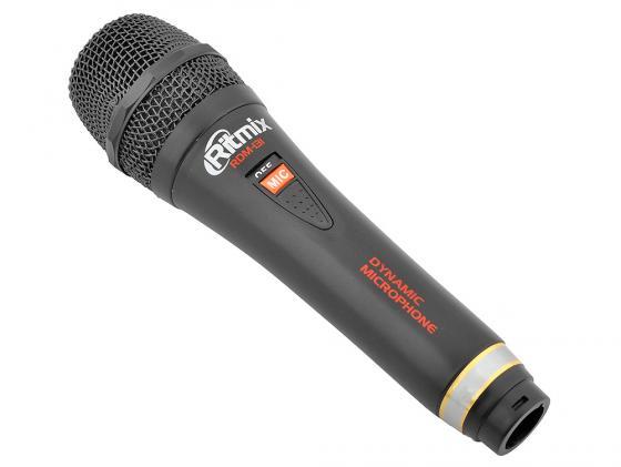 Микрофон Ritmix RDM-131 черный 3м nowley nowley 8 5294 0 7